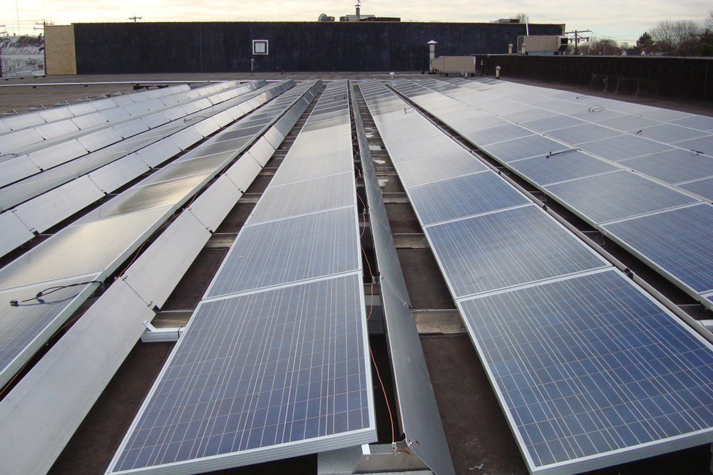 Solar Panels On Our Roof Coffee Distributing Corp.