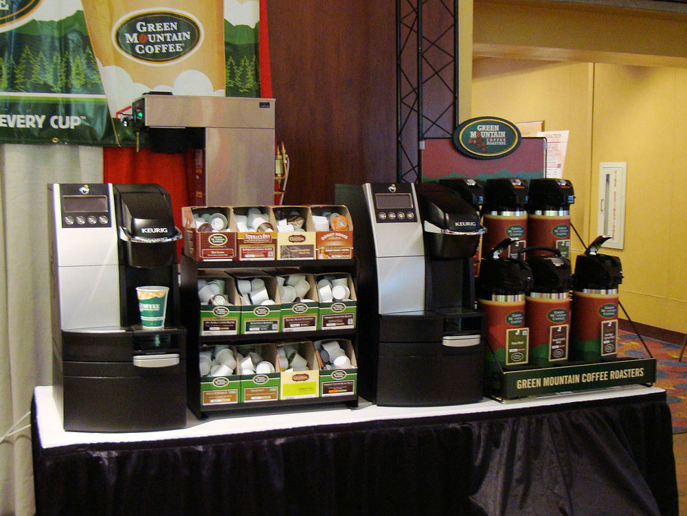 Legaltech 2011 Coffee Booth Featuring Green Mountain