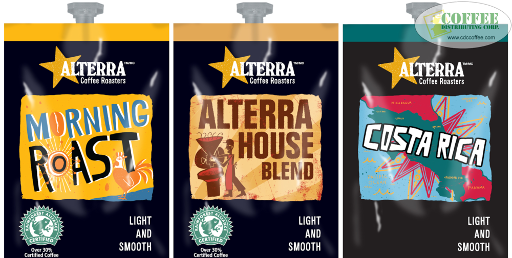 Alterra Light And Smooth Coffees
