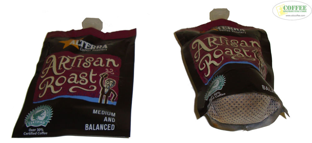 Brewing Flavia Coffee Packets Before And After