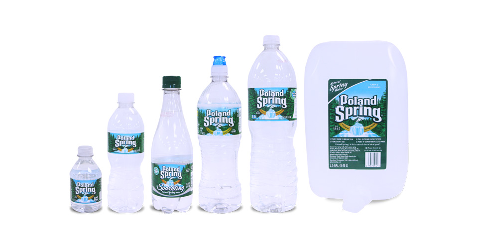 Bottled Water Office Delivery - Poland Spring, Dasani, Evian
