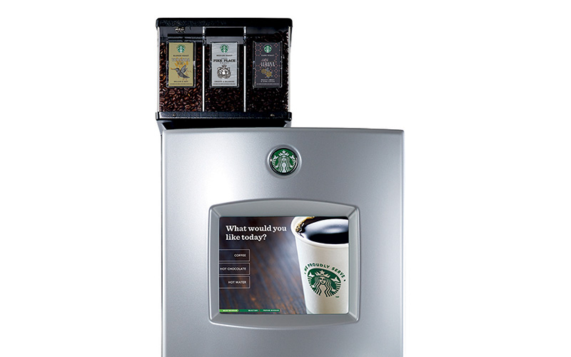 One Cup Starbucks Coffee Maker : Starbucks Interactive iCup Single Cup Coffee Brewer